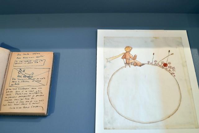 Les aquarelles du Petit Princeont été vendues aux... (AFP, Rémy Gabalda)