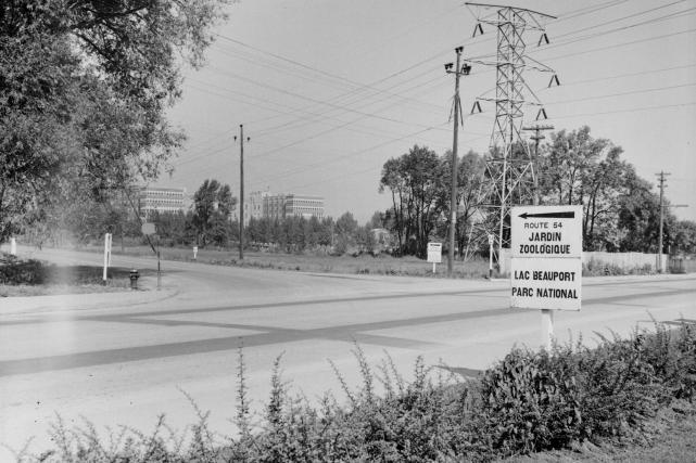 L'hôpital de l'Enfant-Jésus en 1942... (Photo Archives de la Ville de Québec, N001855)