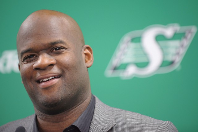 Vince Young n'aura fait que passer en Saskatchewan.... (Photo Mark Taylor, archives La Presse canadienne)