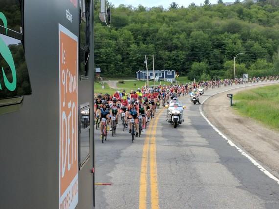 Les cyclistes ont relevé le défi de la... (Photo Jonathan Hudon)