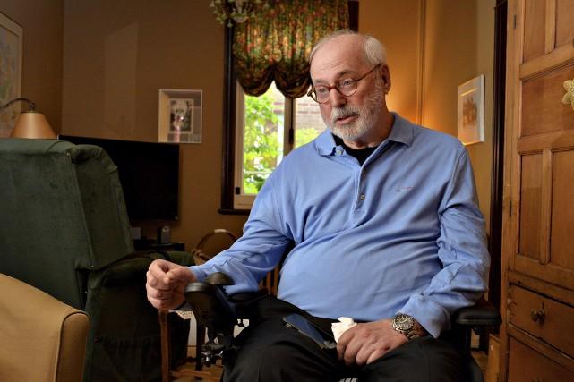 Lui-même atteint d'une maladie dégénérative, Ghislain Leblond a... (Le Soleil, Patrice Laroche)