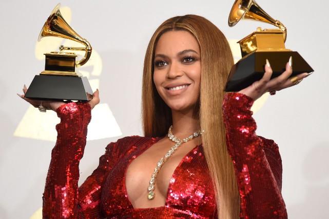 La chanteuse Beyoncé a accouché, dimanche, de jumeaux.... (Archives AFP, Robyn Beck)