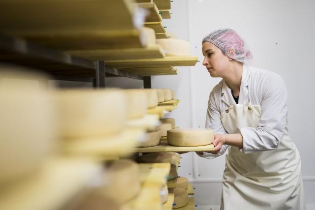 Les artisans fromagers du Québec risquent de subir... (La Presse)