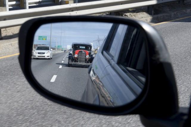 Coincé récemment dans un embouteillage sur l'autoroute Charest, Jean-Marie... (Le Soleil, Jean-Marie Villeneuve)