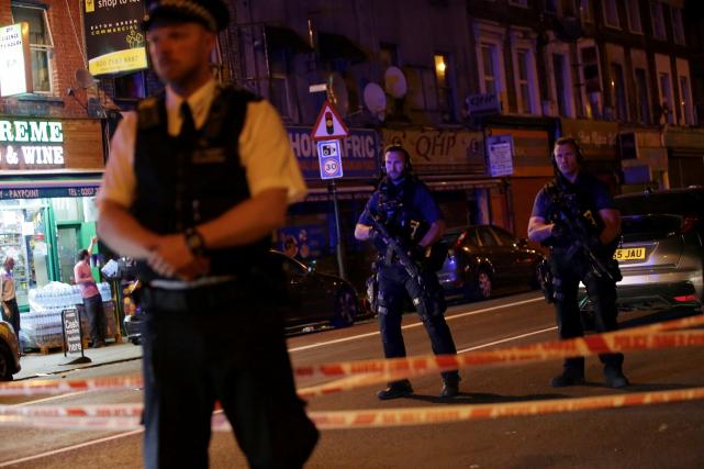 La police a indiqué que le conducteur de... (AFP, Daniel Leal-Olivas)
