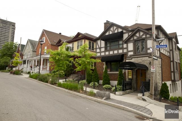 La rue Champlain à Gatineau.... (Martin Roy, Le Droit)