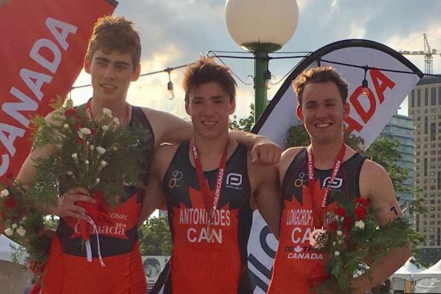 Pavlos Antoniades sera des Championnats mondiaux de triathlon... (Courtoisie)