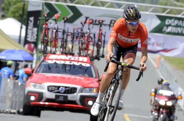Le vainqueur de la cinquième et dernière étape... (fournie par le Tour cycliste de Beauce, Brian Black Hodes)