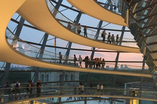 Le Reichstag... (Photo Nathalie Collard, La Presse)