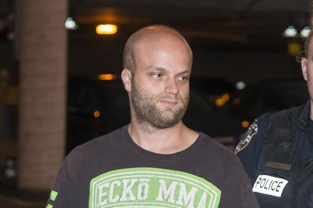Guillaume Bélanger purgera 18mois de prison pour avoir... (Spectre Média, Frédéric Côté)