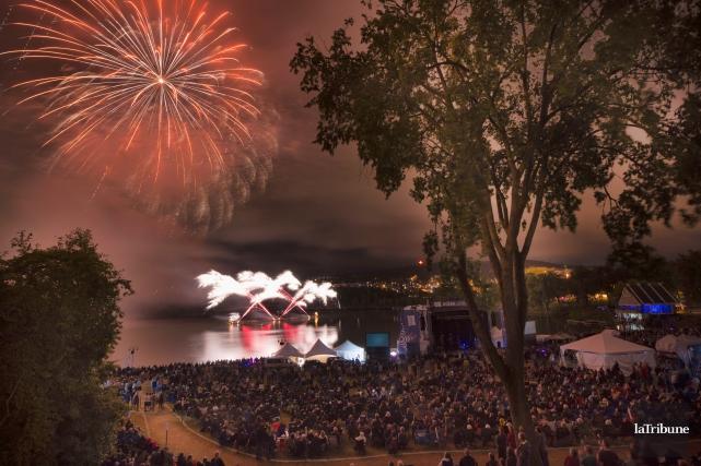 Des festivals et événements de Sherbrooke voient l'aide financière accordée par... (Archives La Tribune, Julien Chamberland)