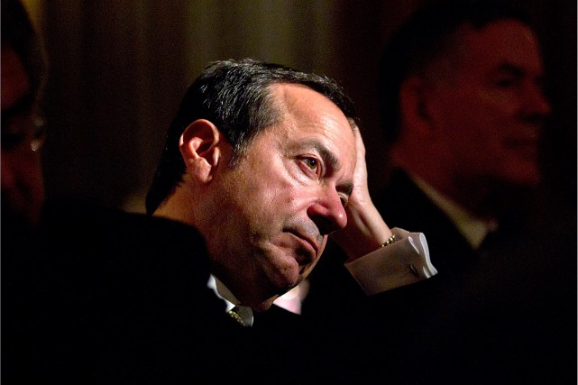 Le célèbre investisseur américain John Paulsona indiqué qu'il... (Photo Jin Lee, archives Bloomberg)