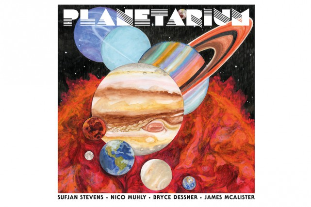 Planetarium, de Sufjan Stevens, Nico Muhly, Bryce Dessner,... (image fournie par 4AD)
