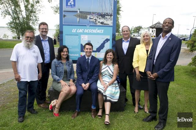 La première route touristique de l'Outaouais a été... (Martin Roy, Le Droit)