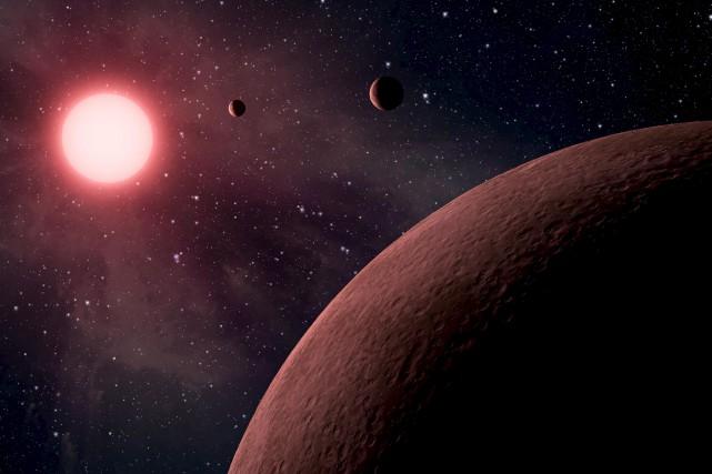 Ces 10 planètes font partie de 219 nouvelles... (AP)