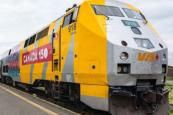Les projets de Via Rail pour les deux...
