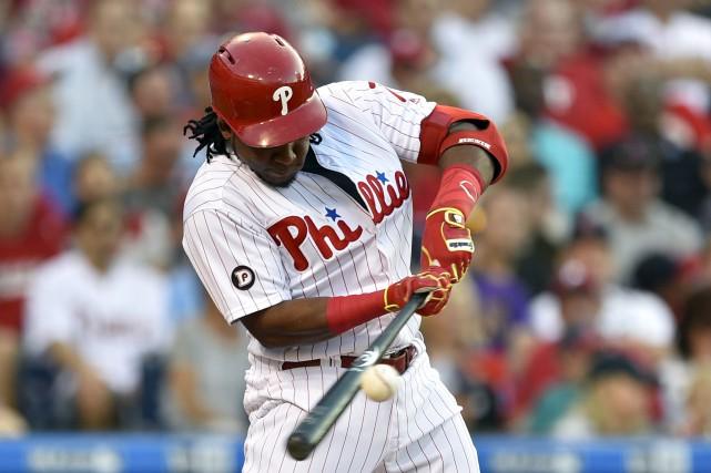 Certains joueurs des Phillies de Philadelphie, comme Maikel... (AP, Derik Hamilton)