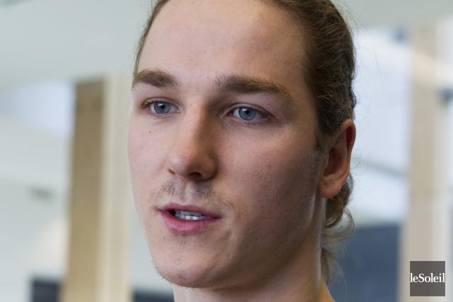 Alexandre Leclerc représentera le Canada aux Universiades, en... (Archives Le Soleil)