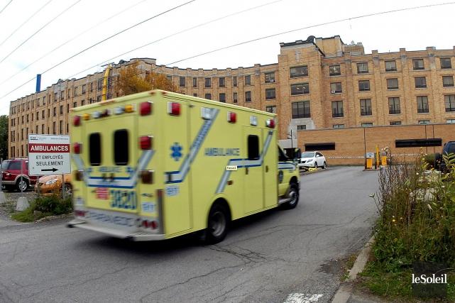 À son tour, l'Association des spécialistes en médecine d'urgence du Québec... (Photothèque Le Soleil, Jean-Marie Villeneuve)