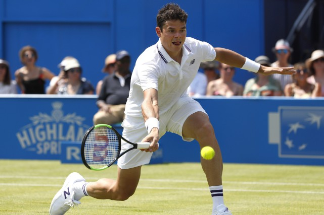 Milos Raonic... (Photo Kirsty Wigglesworth, AP)