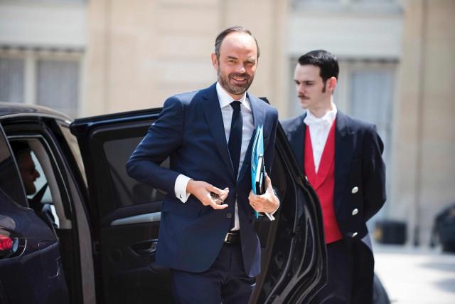 Le premier ministre Édouard Philippe a expliqué mardi... (AFP, JULIEN DE ROSA)