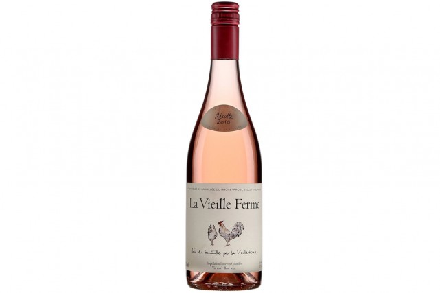 La Vieille Ferme Rosé Luberon (13288832) 13$... (Photo fournie par la SAQ)