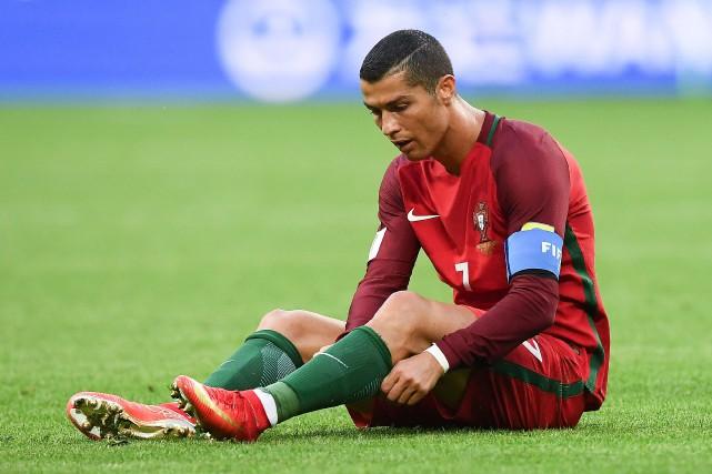 Cristiano Ronaldo... (Photo FRANCK FIFE, AFP)
