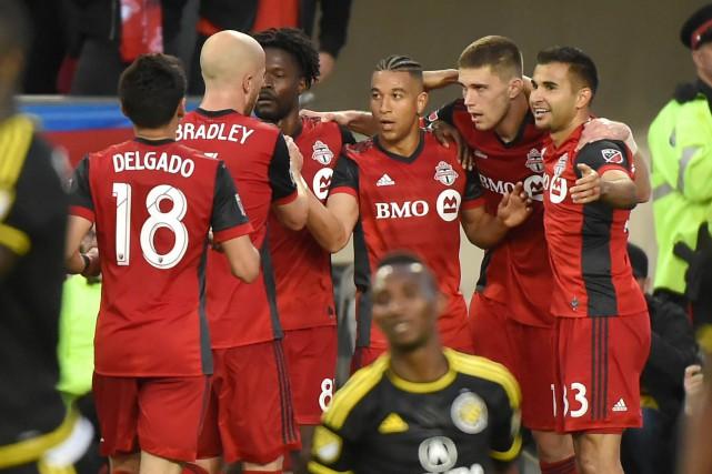 Le Toronto FC trône au sommet du classement... (Archives)