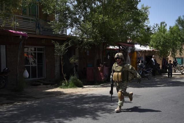L'attaque contre les gardes afghans est survenue tard... (AFP)