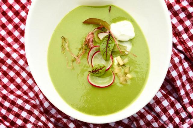 Soupe aux feuilles de radis... (Photo Bernard Brault, La Presse)