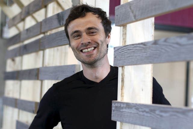 Le cofondateur de FarmLead, Alain Goubau...