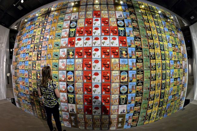 Hergé à Québecest présenté du 21 juin au... (Photothèque Le Soleil, Patrice Laroche)