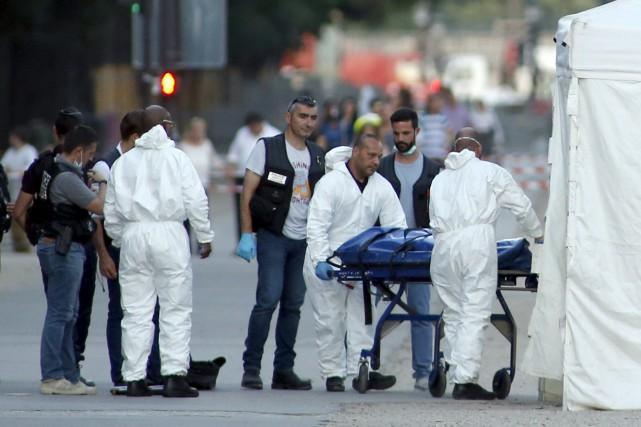 Adam Djaziri, 31 ans, qui n'a tué que... (AP, Matthieu Alexandre)