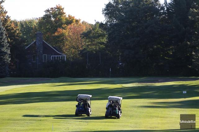 Le club de golf municipal Miner... (archives La Voix de l'Est)