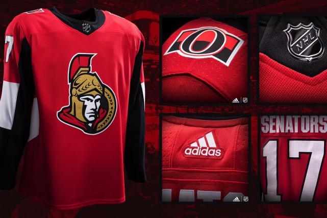 Les changements sur l'uniforme des Sénateurs d'Ottawa sont... (Facebook, Sénateurs d'Ottawa)