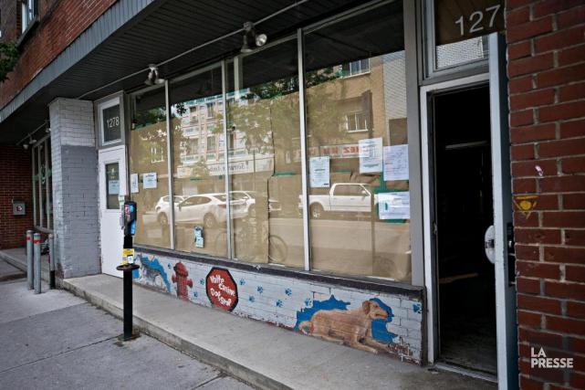 L'organisme Spectre de rue aménage actuellement un local,... (PHOTO PATRICK SANFAÇON, LA PRESSE)