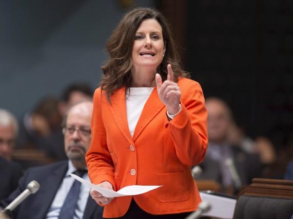 La ministre de la Justice, Stéphanie Vallée,se dit... (Archives La Presse canadienne)