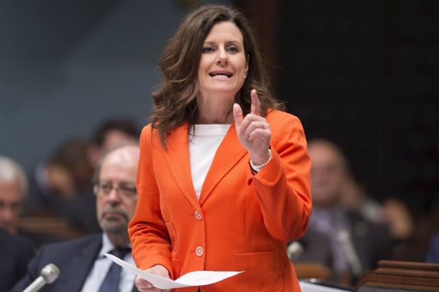 La ministre de la Justice, Stéphanie Vallée, s'en... (La Presse canadienne)
