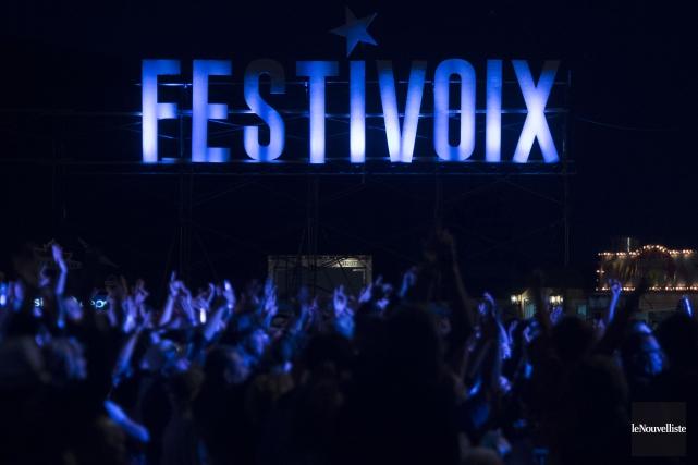 L'édition 2017 du FestiVoix s'achemine vers une vente... (Stéphane Lessard, Le Nouvelliste)