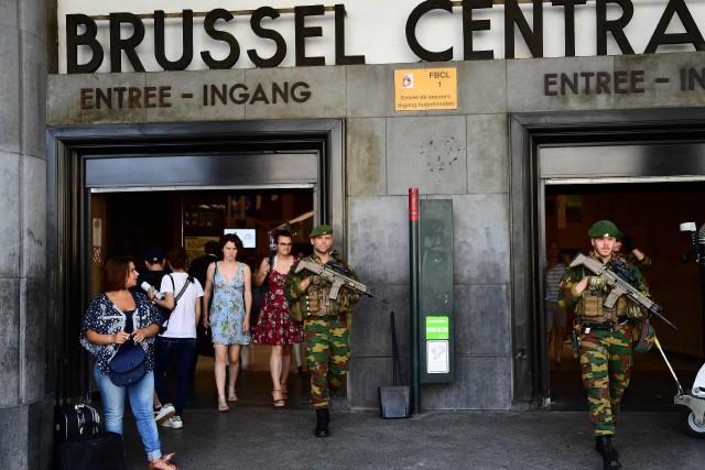 La gare où a eu lieu l'explosion est... (AFP)