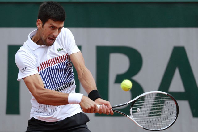 Novak Djokovic... (Photo Thomas Samson, AFP)