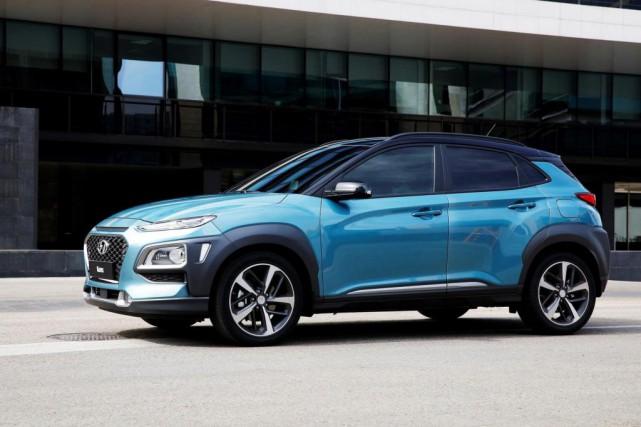Le Hyundai Kona... (PHOTO FOURNIE PAR LE CONSTRUCTEUR)