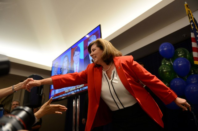 La républicaine Karen Handel a battu mardi le... (Photo Bita Honarvar, REUTERS)