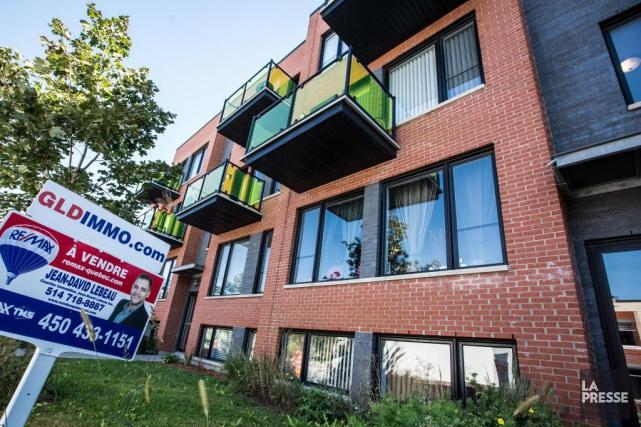 Selon la SCHL, le nombre d'appartements locatifs mis... (OLIVIER PONTBRIAND, archives LA PRESSE)
