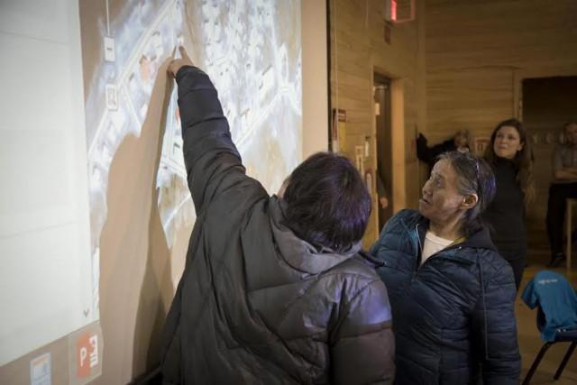 Activité de cartographie dans la communauté de Sanikiluaq... (Google)