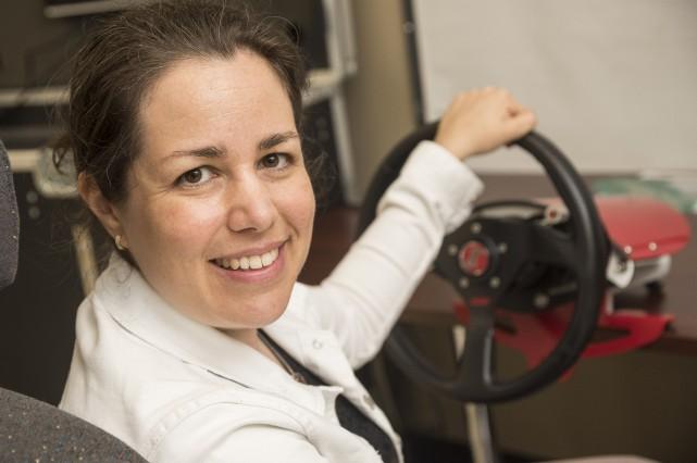 La professeure et chercheuse Mélanie Levasseur souhaite mieux... (Spectre Média, Frédéric Côté)
