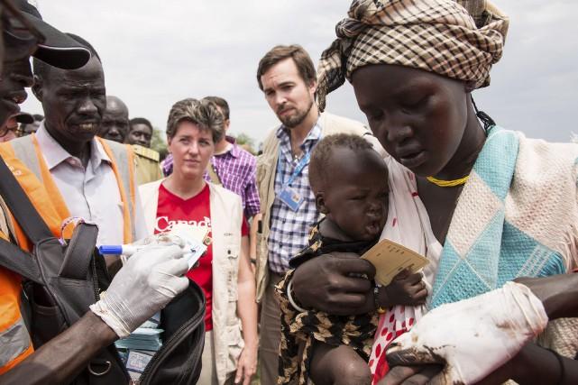La ministre du Développement international et de la... (Photo fournie)