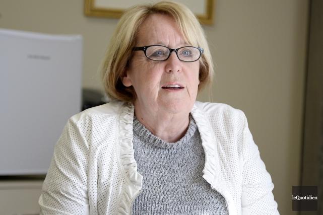 Nicole Bouchard a été nommée rectrice de l'Université... (Photo archives Le Quotidien, Jeannot Lévesque)