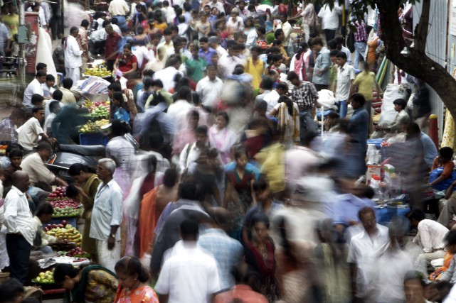 L'Inde doit devenir l'État le plus peuplé du... (PHOTO ARCHIVES AP)