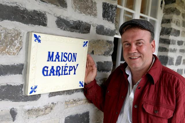 Gaétan Gariépy, avec la casquette de son père... (Le Soleil, Erick Labbé)